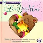 "Inspired by a nightly game of ""I love you more"" between the mother and daughter authors, this delightful book is filled with comparisons of how much Little Bear loves his mother. Included is a CD featuring lullaby music, songs such as Jesus Loves me."