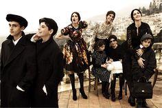 Dolce & Gabbana's a/w '12 campaign.