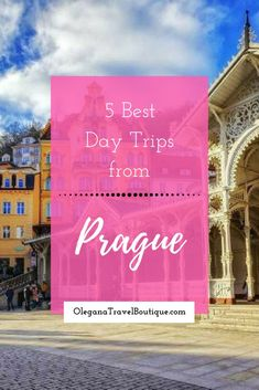 These day trips from Prague will offer you unforgettable travel experiences without the hassle of taking all of your luggage with you. Read on and enjoy! #travel #usa #international #destinations #uniqueexperiences #luxuryresorts #family #couples #prague #daytrips #roadtrip