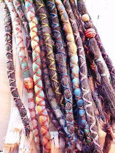 Dread Wraps on Pinterest | Dread Beads, Dreadlock Beads and ...