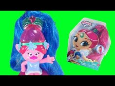Troll Poppy Turns Into Shine From Shimmer and Shine! - YouTube