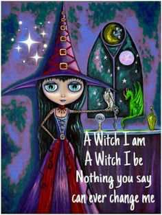 Book of Shadows:  A Witch I Am....