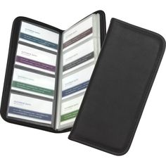 Microsoft Samsill Sterling Professional Business Card Holder