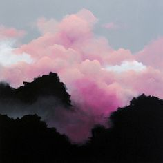 <p>Im in love by the dreamy pink clouds paintings by Sydney born and based Brooklyn Whelan. He is one of Australia's leading/finest emerging contemporary artists, working primarily with acrylics on ca