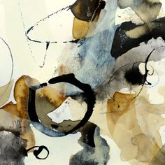 art journal - expression through abstraction — Isabelle Mignot