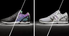 THE SNEAKER ADDICT: Adidas ZX Flux 'Xeno' Black & Grey Sneakers Availa...