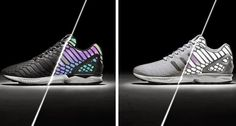 THE SNEAKER ADDICT: Adidas ZX Flux 'Xeno' Black & Grey Sneakers Availa...