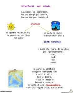 Italian Language, Home Schooling, Earth Science, Learning, Cartography, Teachers, Historia, Chart, Studying
