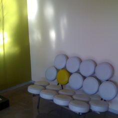 My marshmallow sofa:  10%