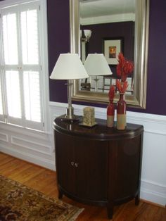 My Eggplant Purple Dining Room I Chose This Color On A Whim And Everyone Seems