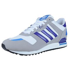 504a87680 ADIDAS ZX 700 RETRO RUNNING SHOES RUNNING WHITE ALUMINUM BLAST PURPLE G96514