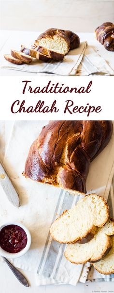 This traditional challah recipe is a wonderful versatile bread and dough recipe. Perfect for making many other types of bread!