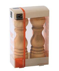 Peugeot PARIS natur Pfeffermühle und Salzmühle Set 18cm