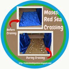 Moses: Crossing the Red Sea, og ideer til de ti plager, februar