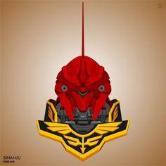 #gundam #vector #mobilesuit #mecha #plamo #gunpla #hobby #zeon #red #redcomet #char #sinanju Sinanju MSN-06S