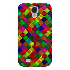 geometric color samsung galaxy s4 cover