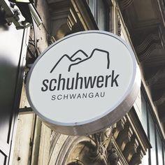Logo-Design für Schwangau Schuh GmbH | | Jasten, Büro für Gestaltung und Kommunikation | Markenentwicklung und Verpackungsdesign aus Irsee im Allgäu | für schuhwerk schwangau