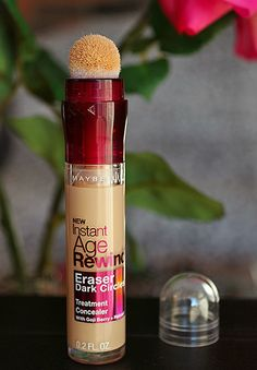 Maybelline Instant Age Rewind Eraser Dark Circles Concealer...I finally found a drugstore under eye concealer that I love! Good sh!t:-)