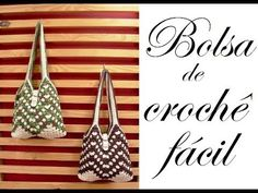 BOLSA DE CROCHE FÁCIL -- NEDDY GHUSMAM - YouTube