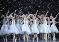 Classical ballet dance rehearsed before live performances