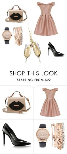 """Untitled #3"" by anidahadzic ❤ liked on Polyvore featuring Chi Chi and Jessica Carlyle"