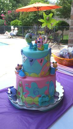 My Little Pet Shop cake