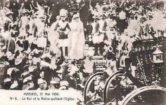 31.Mai 1906 Wedding of King Alfonso XIII. of Spain with Ena of Battenberg | Flickr - Photo Sharing!