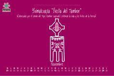 Para los Huicholes es mas importante la vida, que la muerte. #calendario #huichol #peyote