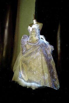 Something sparkly. fiber optic dress. Cinderella.....