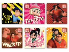 18 WRECK IT RALPH MOVIE Stickers Favors - FREE SHIPPING!