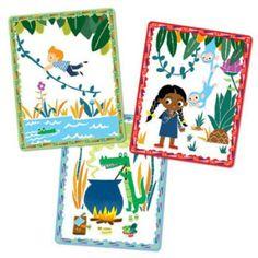 Carte e giochi da tavolo per inventare fiabe, favole e racconti - Tell Me a Story - Volcano Island - 02