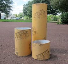 How to Make a Restoration Hardware Concrete Fire ColumnTutorial for cement outdoor columns to hold hurricane candles.Arts And Crafts Stores Nyc Concrete Crafts, Concrete Projects, Outdoor Crafts, Outdoor Projects, Festa Mickey Baby, Concrete Cement, Concrete Column, Concrete Bench, Concrete Garden