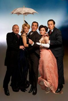 Murdoch Mysteries! cast having fun