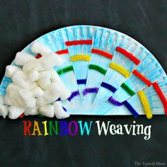 This rainbow weaving art craft for kids using pipe cleaners and paper plates is the perfect for St. Patricks Day craft or activity for the classroom any time of year. Paper plate crafts are cheap to make and great for kids in Preschool or Kindergarten. Easy Crafts For Teens, Toddler Crafts, Preschool Crafts, Kids Crafts, Toddler Activities, Preschool Kindergarten, Preschool Plans, Elderly Activities, Dementia Activities