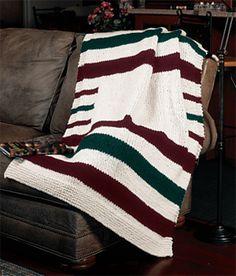 Ravelry: Hudson Bay Blanket pattern by Lion Brand Yarn