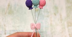 I love making mini balloons. They are perfect for any or no occasion. And they are super easy and quick to make. My pattern changes eve...