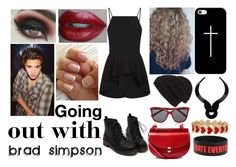 """Going out with Brad Simpson"" by di4tris ❤ liked on Polyvore featuring Finders Keepers, Casetify, Chloé, Lara Bohinc, Alison Lou, Phase 3 and Dolce&Gabbana"