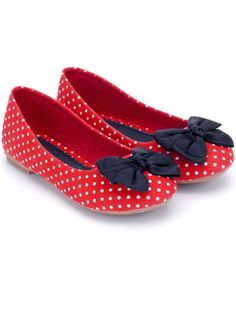 Oh,my!!! Polka dot Ballerinas from Accessorize