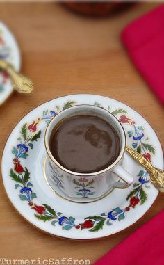 Turkish coffee.  From a cool website about Persian food.