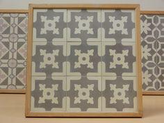 Handmade encaustic tiles, 15x15 cm format. 1570 Shield.  Brochure available.