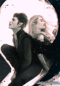 """xnightwolfx: """" shalizeh7: """" So I have finished reading both """"A Court of Thorns and Roses"""" and """"A Court of Mist and Fury"""" by Sarah J. Maas and they are amazing"""