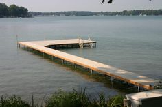 ShoreStation dock is easy to install and one of the most versatile systems on the market today.  With their custom support framework and lightweight but durable construction, ShoreStation has cornered the market on freestanding dock.