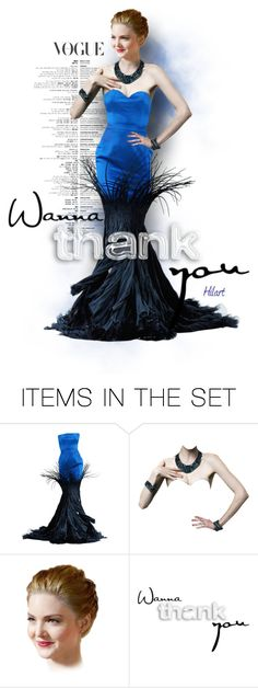 """""""~ Wanna Thank You ~"""" by ellen-hilart ❤ liked on Polyvore featuring art"""