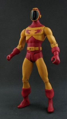 DC Wildfire (Legion of Superheroes) (DC Direct) Custom Action Figure