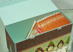 Tea bag box and Keurig K-cup projects - cookiestamper