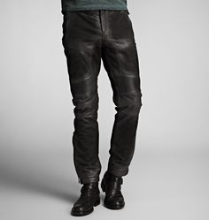 WESTMORE TROUSERS  In Oiled Suede
