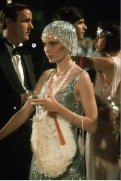 the great gatsby 1974. Inspiration for Ninon's evening dress.