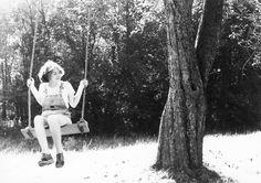 https://flic.kr/p/48DMAJ | Swingtime in Springtime 2 | nikon F 35mm tri-x upstate n.y.