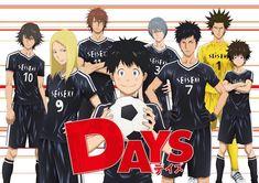 DAYS. Soccer Anime series