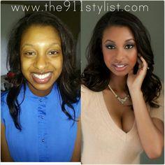 Glamour Makeup, Makeover, Transformation, makeup, Orlando makeup artist, Orlando hairstylist, Bridal Hair, Bridal Makeup, Wedding Makeup Artist